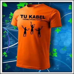 Tu Kabel - oranžové