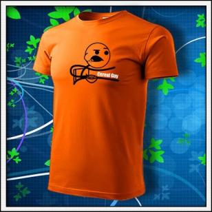 Meme Cereal Guy - oranžové