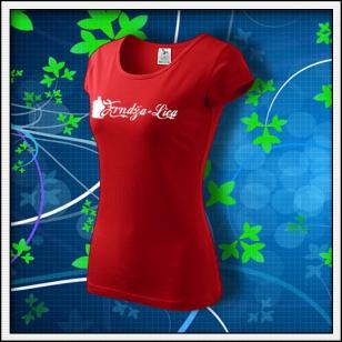 Frndžalica - dámske červené