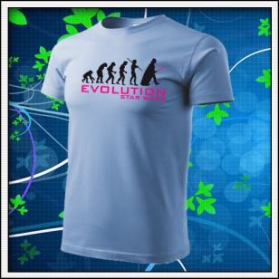 Evolution Star Wars - nebeské modré
