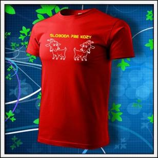 Sloboda pre kozy - červené
