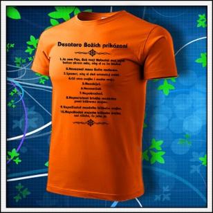 Desatoro - oranžové