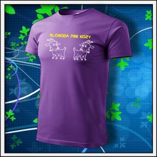 Sloboda pre kozy - fialové
