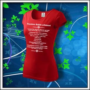 Desatoro - dámske červené