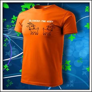 Sloboda pre kozy - oranžové