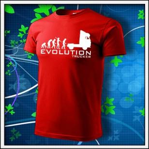 Evolution Trucker - červené