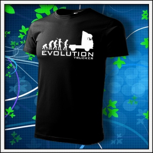 Evolution Trucker - čierne