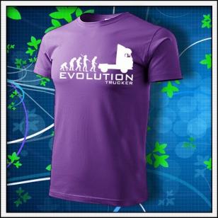 Evolution Trucker - fialové