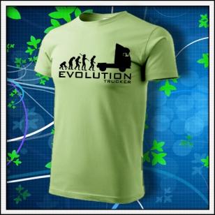 Evolution Trucker - hráškovozelené