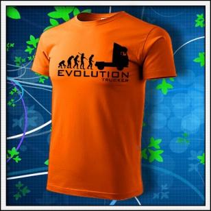 Evolution Trucker - oranžové