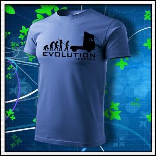 Evolution Trucker - svetlomodré