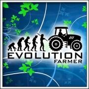 Vtipné tričká Evolution Farmer