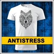 Vyfarbovacie antistresové mandala tričká, tričko a omaľovánka v jednom