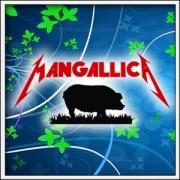 Pánske vtipné tričká Mangallica vtipné darčeky paródia Metallica