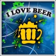 Tričko I Love Beer