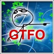 Tričko Meme GTFO