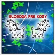 Vtipné tričká Sloboda pre kozy