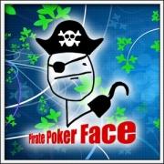 Tričko Meme Pirate Poker Face