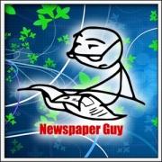Tričko Meme Newspaper Guy