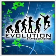 Tričko Evolution Skateboarding