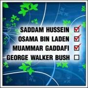 vtipné tričko bush