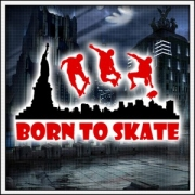 Tričko Born to Skate
