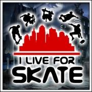 tričko I Live For Skate