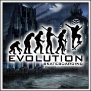 dámske tričko Evolution Skateboarding