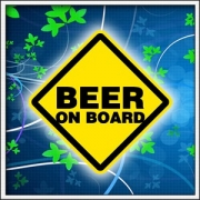 tričko beer on board