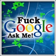 tričko fuck google ask me