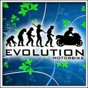 pánske dlhorukávové tričko evolution motorbike