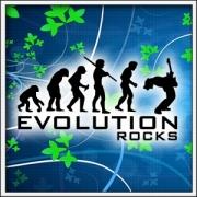 Vtipné tričká Evolution Rocks