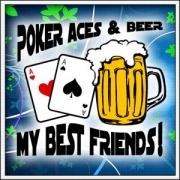 Tričko Poker Aces & Beer