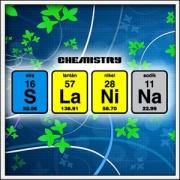 Vtipné tričko SLANINA Chemistry - periodická sústava prvkov