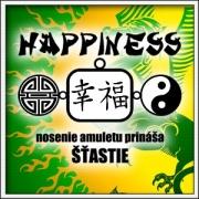 Magické amulety a talizmany šťastia na tričkách.