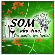 Tričko Som ako víno