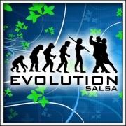 Vtipné tričká Evolution Salsa
