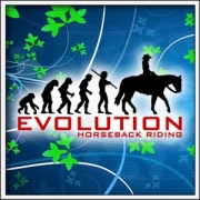 Tričko Evolution Horseback Riding