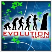 Vtipné tričko Evolution Batman