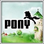 Vtipné detské tričko Pony parodia Puma