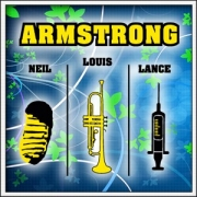 Vtipné tričká Armstrong