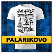 Tričko Palárikovo, tričko kaštiel palárikovo, darček Palárikovo