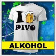 Originálne vtipné tričká s potlačou alkohol vhodné ako vtipné darčeky