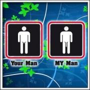 Tričko Your Man My Man