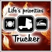 Life´s priorities - Trucker