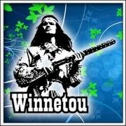 Retro tričká Winnetou s puškou