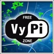 Vtipné tričko Free Vypi Zone