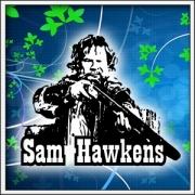 Retro tričko Sam Hawkens